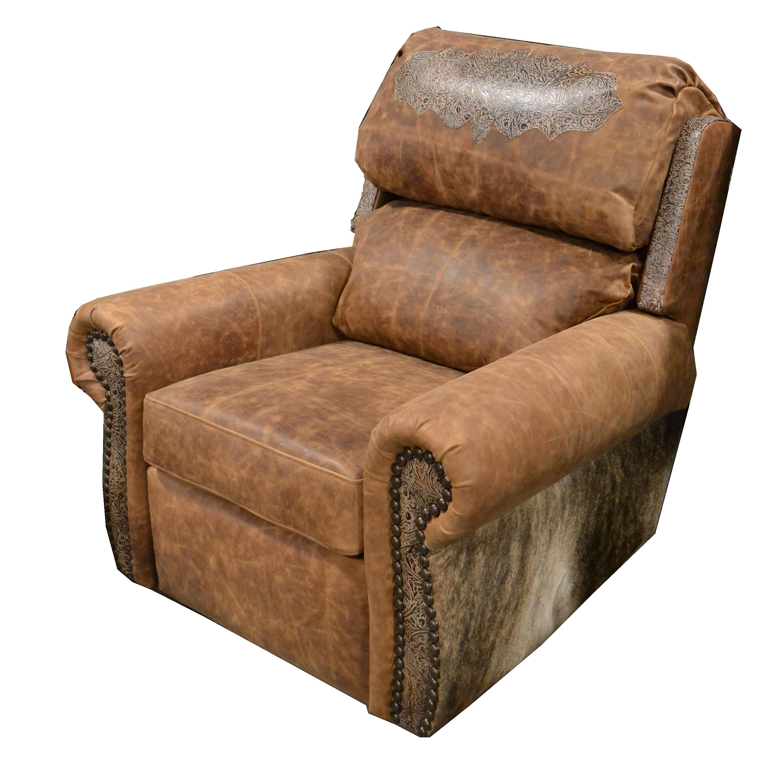 Cowhide Western Furniture Wrangler