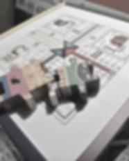 marco para labor punto de cruz parchis c