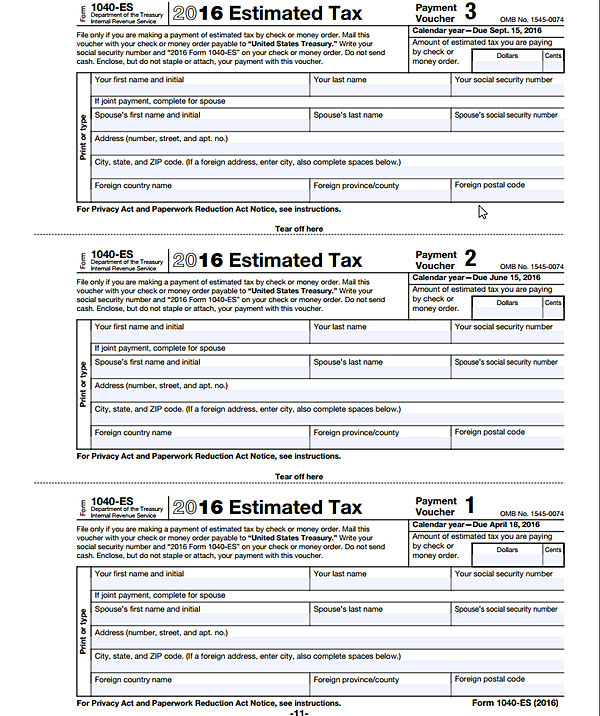 The 2015 Estimated Tax Worksheet the 2016 estimated tax – 2014 Estimated Tax Worksheet