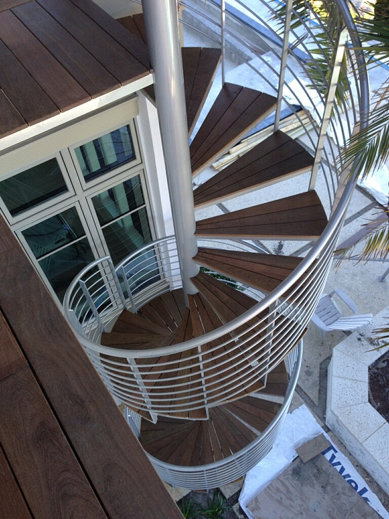 Spiral staircase joy studio design gallery best design - Exterior metal spiral staircase cost ...