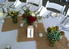 Country centerpieces