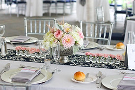 Elegant Romantic Wedding Centerpiece