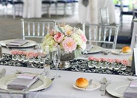 Elegant Romantic Wedding Centerpiece