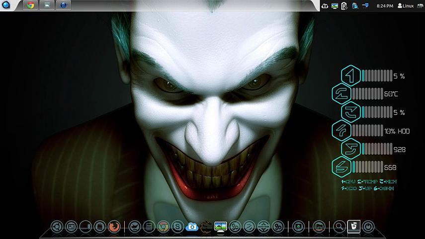 Joker Face Desktop