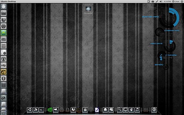 Unity Dark Desktop