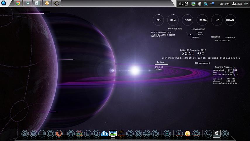 Desktop Space