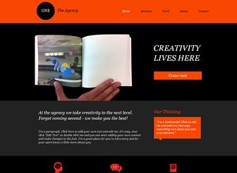 Design Industriel Template - Attirez l'attention sur votre agence de design grâce aux couleurs accrocheuses et à la mise en page dynamique de ce template gratuit! Décrivez vos services et présentez vos précédents projets en ajoutant vos propres images. Commencez à le modifier dès maintenant pour créer un site web de pointe qui aidera votre entreprise à se démarquer !