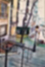 Tableau visible à la galerie Art Home Déco, Galerie et Artothèque, Bordeaux, Gironde, Aquitaine, Peinture, Urbain