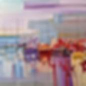 Tableau visible à la galerie Art Home Déco, Galerie et Artothèque, Bordeaux, Gironde, Aquitaine, Peinture, Marine, Bateaux