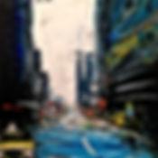 Tableau visible à la galerie Art Home Déco, Gaelerie Art  et Artothèque, Bordeaux, Gironde, Aquitaine, Urbain, New-York