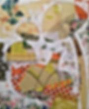 Tableau visible à la galerie d'art Art Home Déco, Galerie et Artothèque, Bordeaux, Gironde, Aquitaine, Peinture, Collage, Figuratif, Enfant