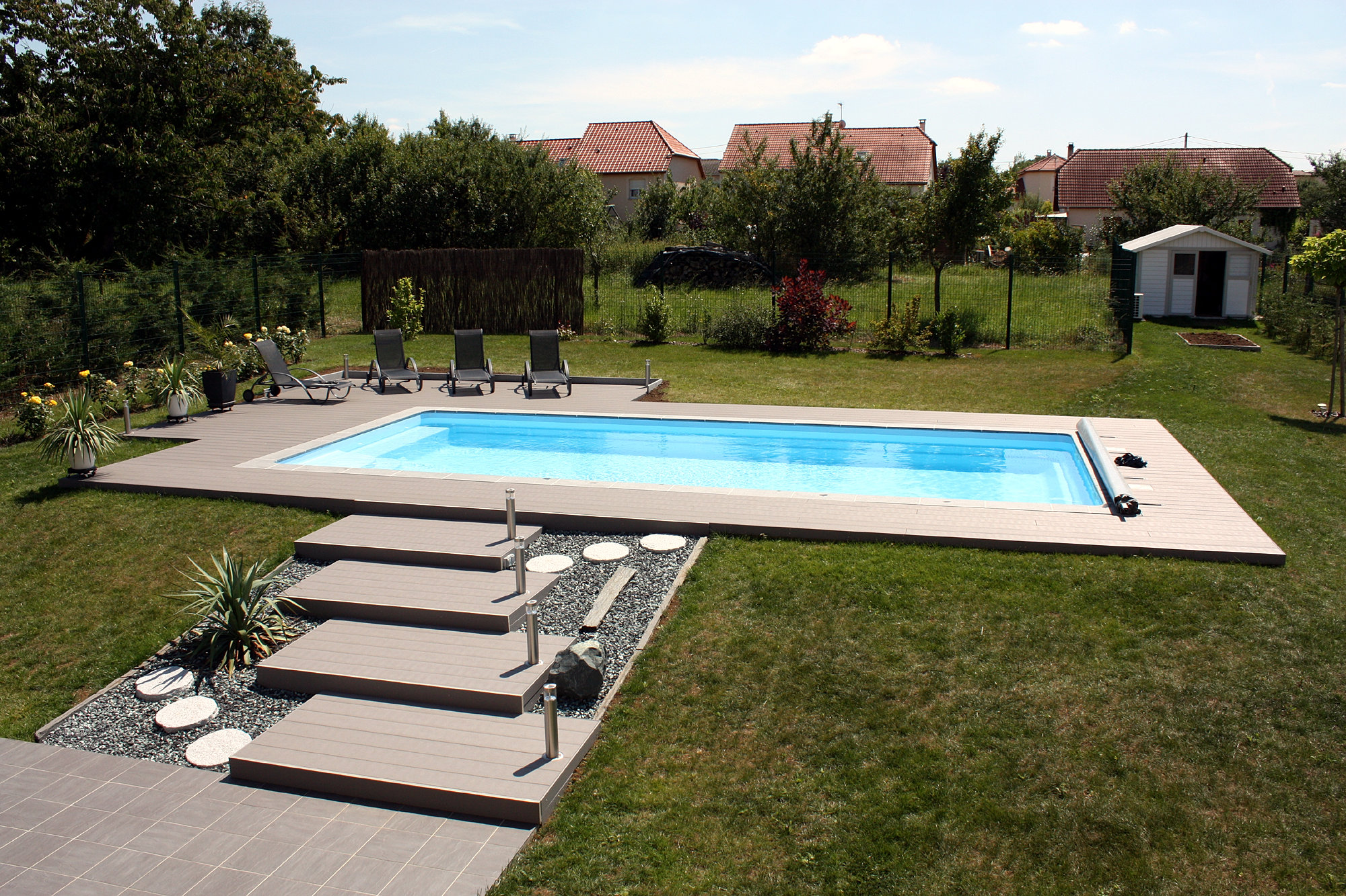 Corr ze concepteur r alisateur piscines saint priest de for Piscine saint priest