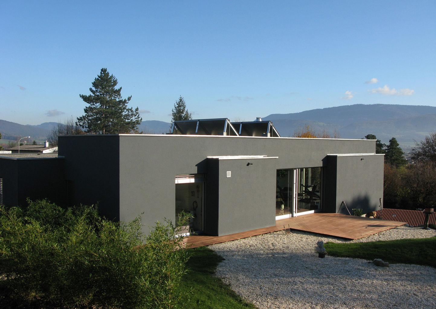 Construire sa maison villas contemporaines maison moderne for Villa a construire