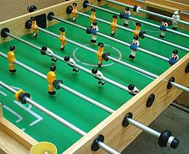Renta de futbolitos mesa de hockey inflables fiestas for Mesa futbolito