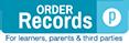 Order Transcript Button