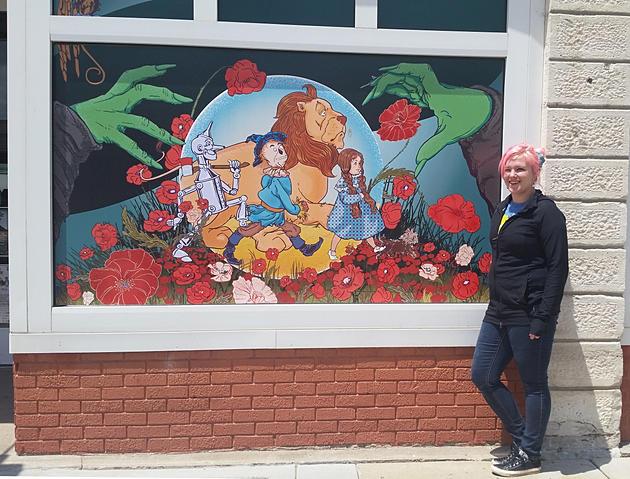 Oz Museum Window Illustrations