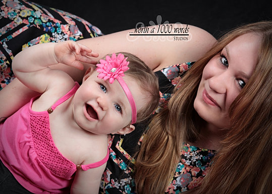 Mother daughter by Worth a 1000 Words in St. Joseph MO 816-279-6000