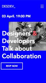 Design & UX Veranstaltung