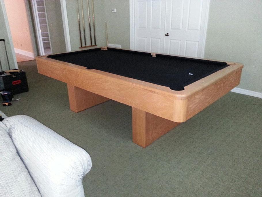 Pool Table Pros. 7ft Craftmaster Oak Finish