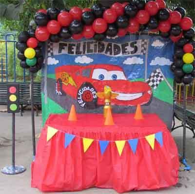 animaci n de cumplea os infantiles fiestas infantiles On decoracion rayo mcqueen