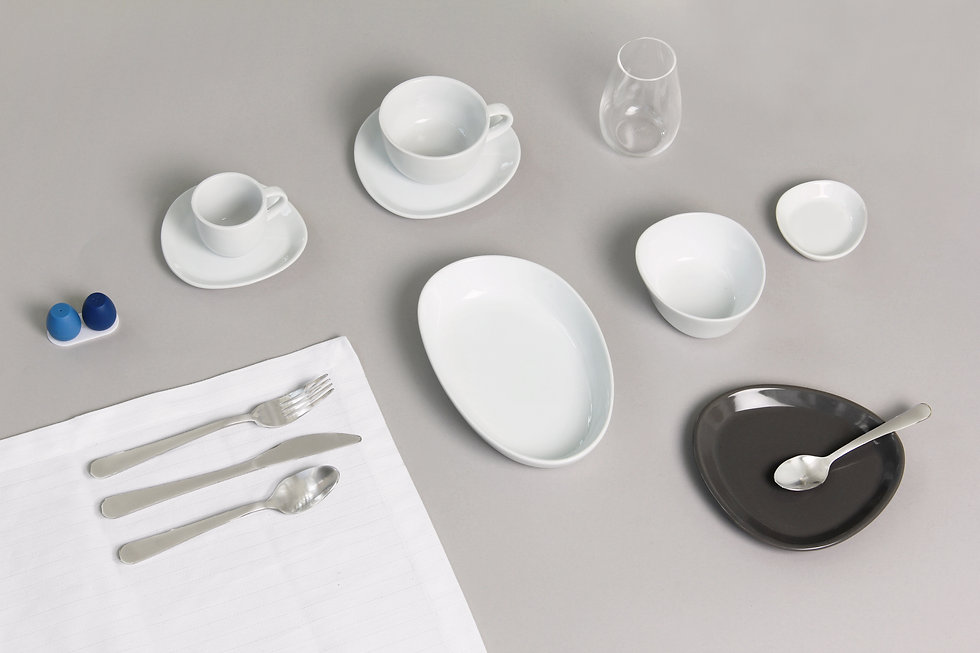 clip flydubai tableware