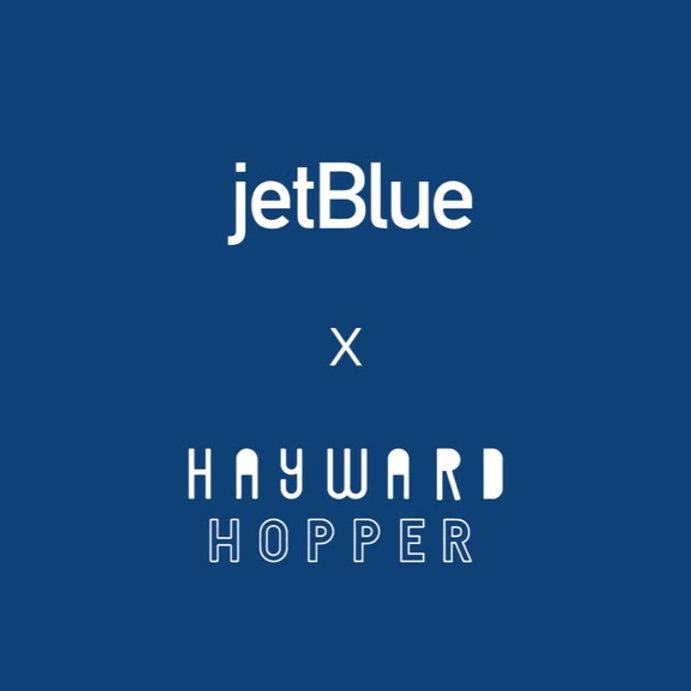 clip jetblue hayward hopper amenity kit