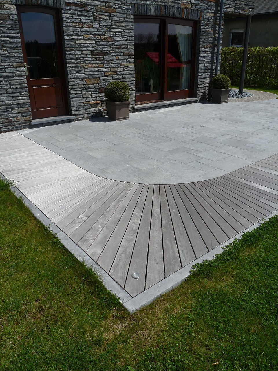 All garden concept eppe xavier for Carrelage en italien