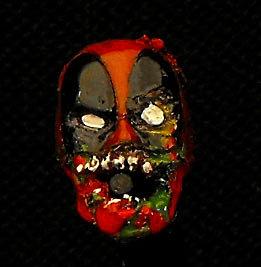 MeMade Customs   Marvel Zombies Deadpool