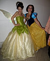 Tinkerbell and Snow White