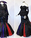 Maleficent Inspired Evening Gown