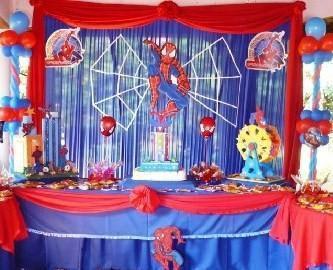 Creaciones tinkerbell decoraciones para tu evento social - Decoracion de aranas ...