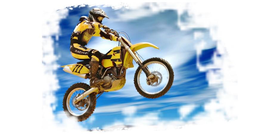 Reifenhalter mit Mutter Reifen 1,85 MX Motocross Enduro Supermoto hinten
