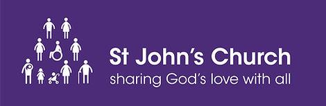 St John's Church logo white-on-purple.jp