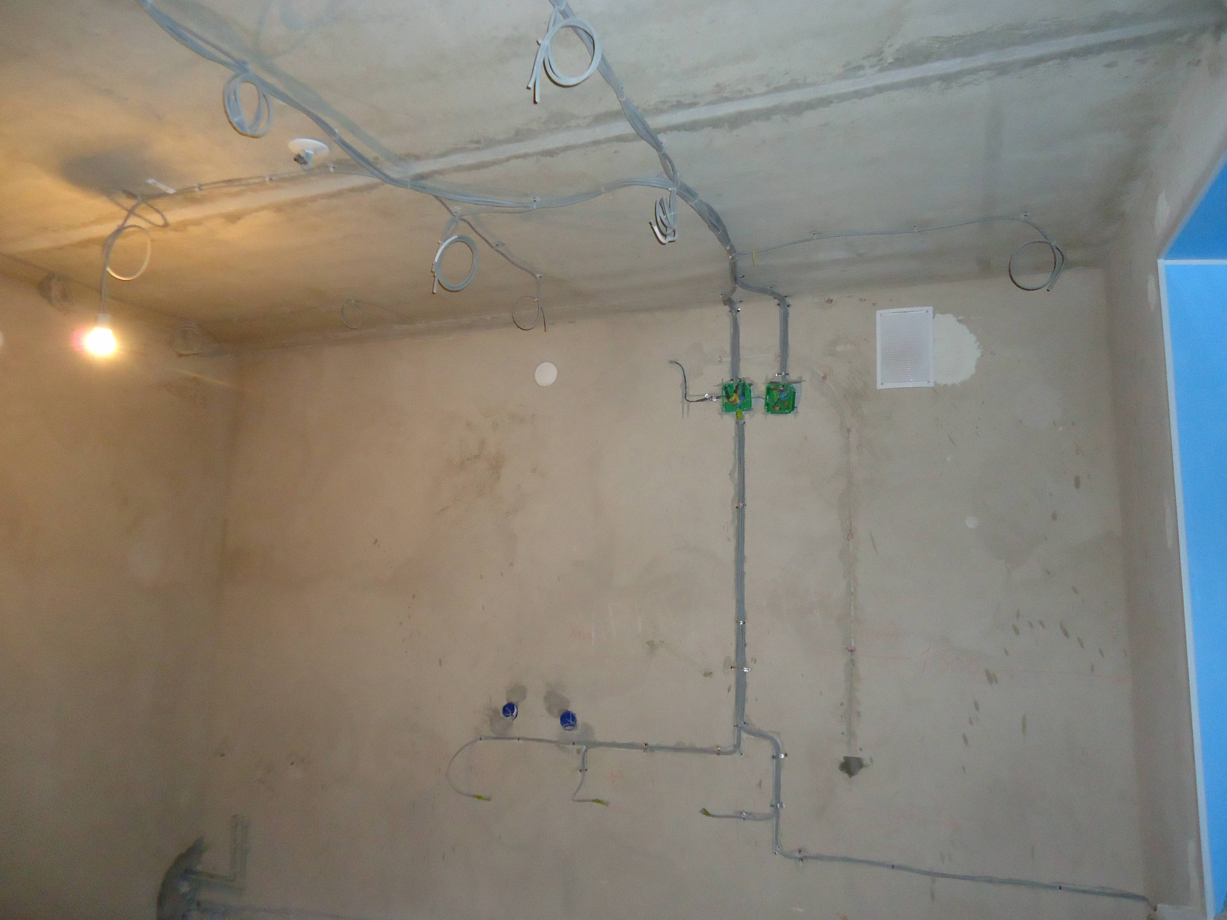 Электромонтаж проводки в квартире своими руками 5522