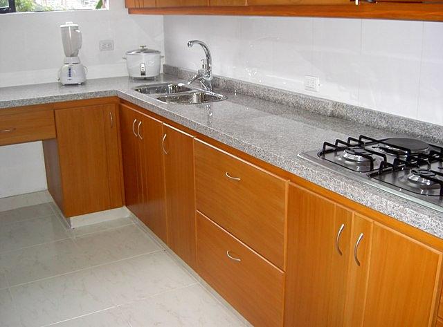 Imagenes de mesones para cocinas imagui for Cocinas en granito natural
