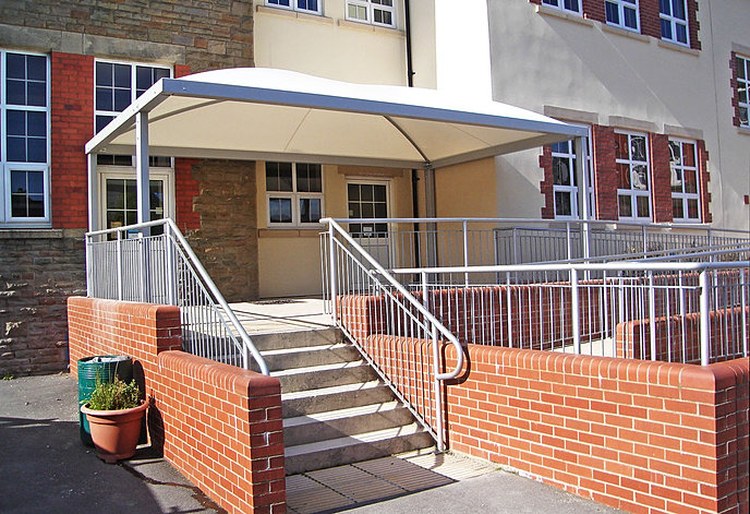 Commercial Canopies And Shelters : Commercial canopies heavy duty tensile shelters for your