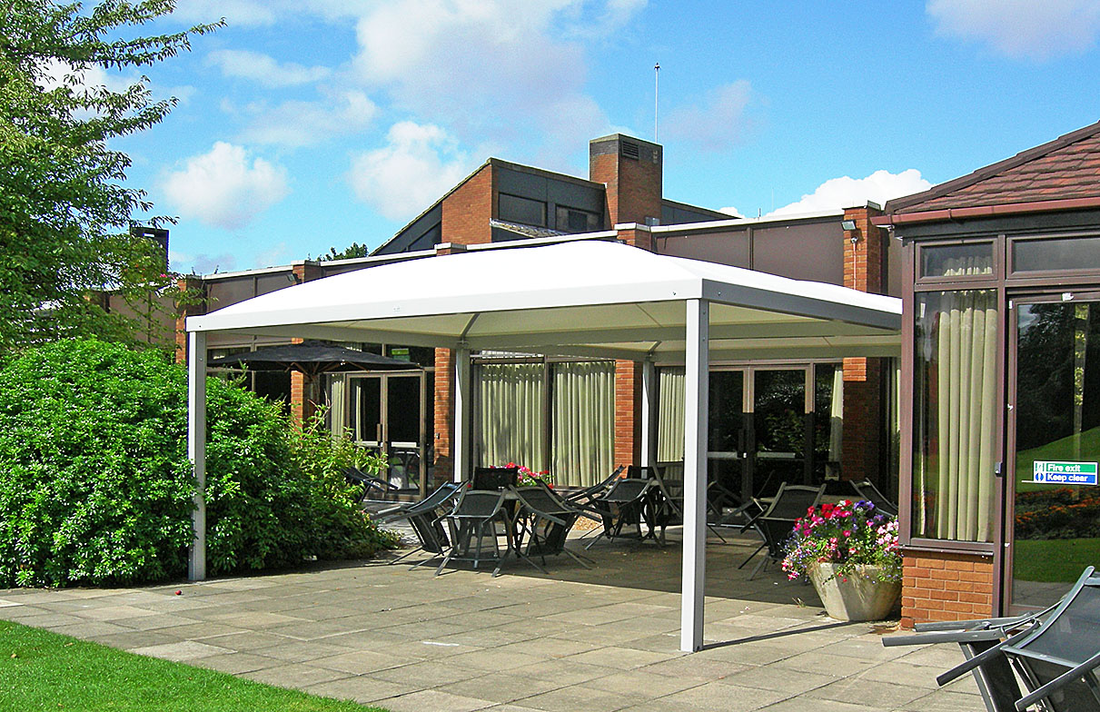 School Canopies Tensile Shelters Amp Covered Walkways