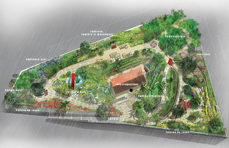 Val rie saintorens images 3d dessin d 39 architecture for Entretien jardin bayonne