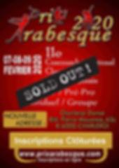 Arabesque Affiche 2020 Inscription Liste