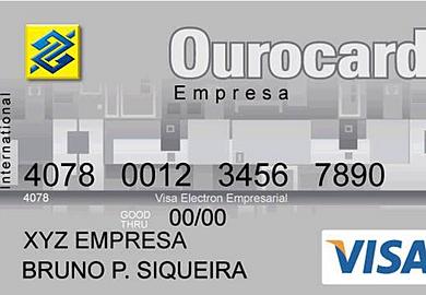 CARTÃO DE PREMIAÇÃO OUROCARD