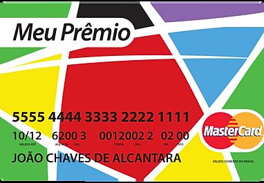 CARTÃO DE PREMIAÇÃO MEU PRÊMIO MASTERCARD