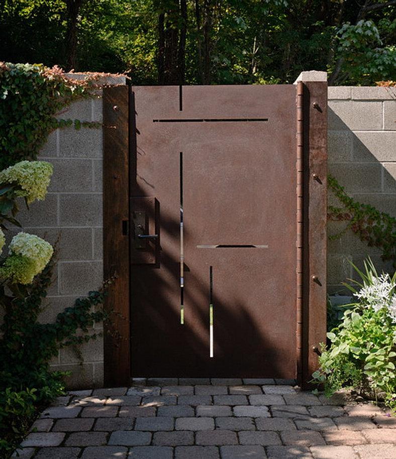 Custom-Outdoor-Patio-Metal-Door & AFFORDABLE Custom Gates Railings \u0026 Fence. Maui Hawaii   GALLERY Pezcame.Com