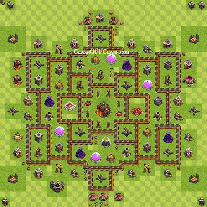 Лучшие базы КВ #5: ТХ 7-8-9-10 (Clash of Clans) | ПОСЛЕ ОБНОВЛЕНИЯ