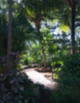 Permaculture Garden Genesis Ek Balam Eco Hotel Yucatan