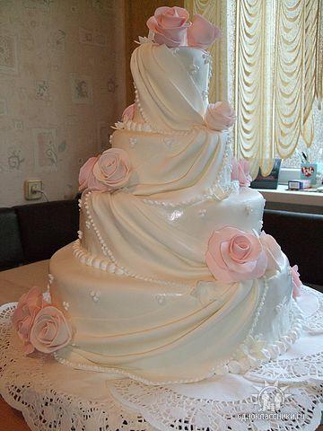 Свадебные торты на заказ в уфе фото