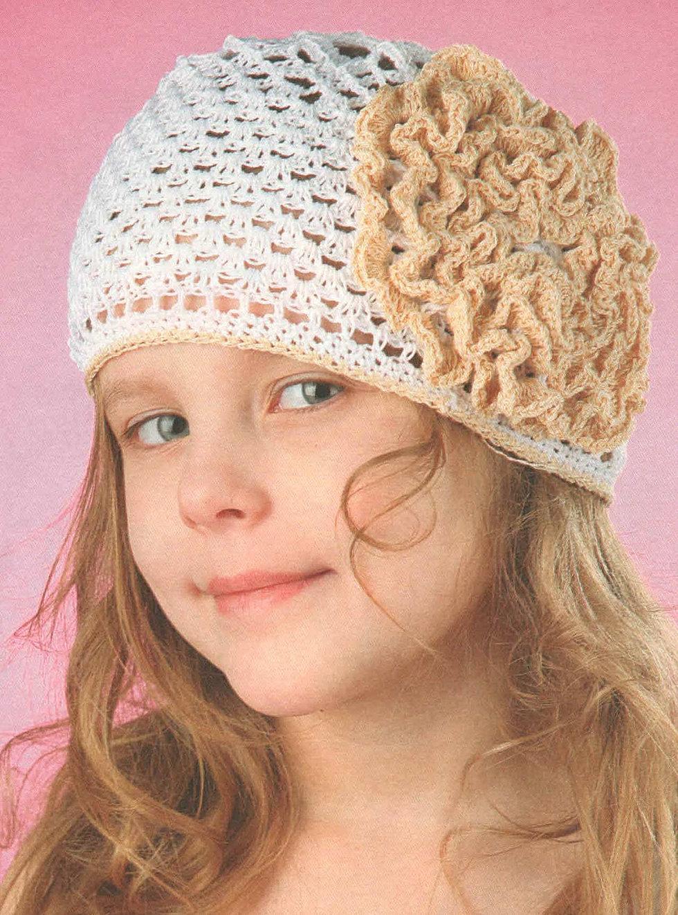 Фото детских шапочек крючком