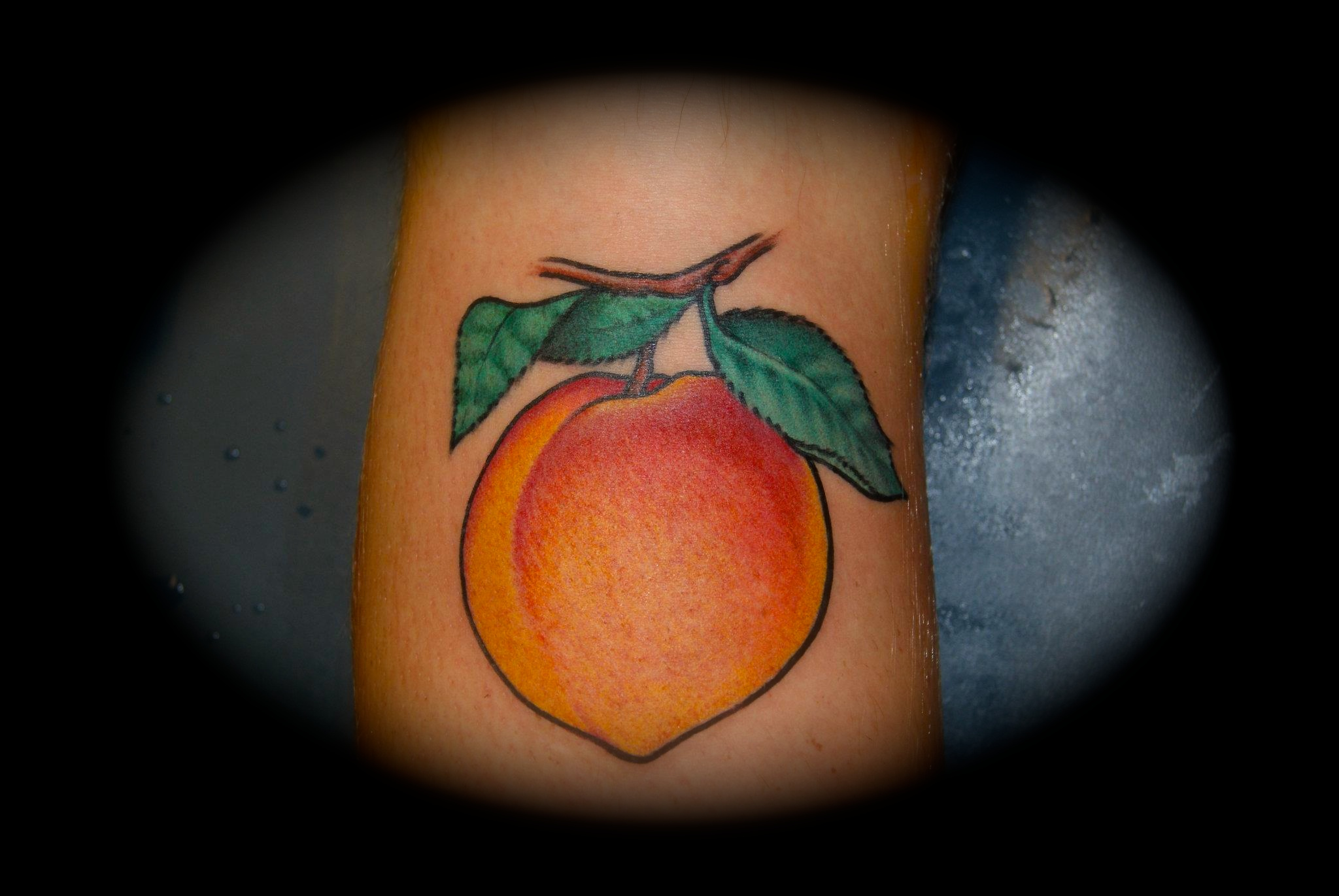 Severe Ink | Peach Tattoo