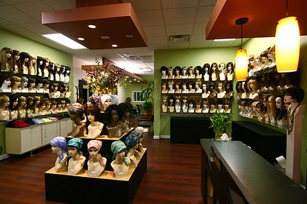 Inside view of Joi Wig Salon