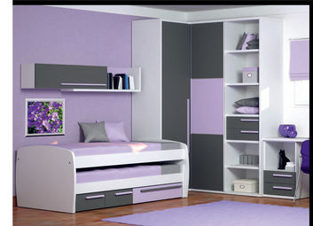 lit et chambre enfant gain place. Black Bedroom Furniture Sets. Home Design Ideas