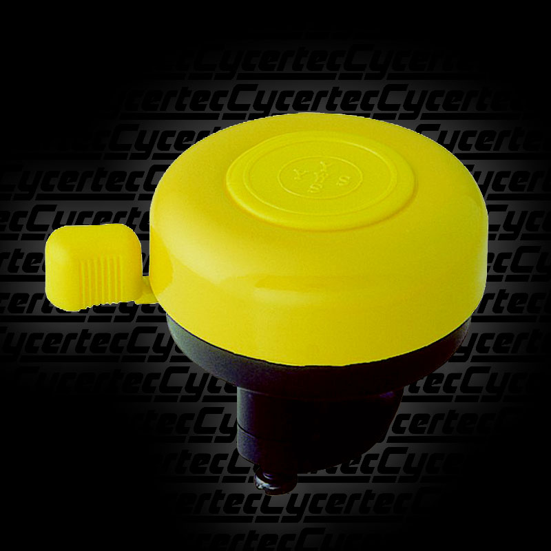 l Love my Bike Bell Bicycle Fixie Yellow